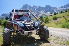 автомобиль приключения Стоковая Фотография RF