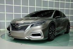 Автомобиль принципиальной схемы c принципиальной схемы Honda Стоковое Фото