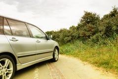 автомобиль припарковал Стоковое Фото