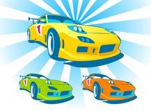 Автомобиль ралли 3 бесплатная иллюстрация