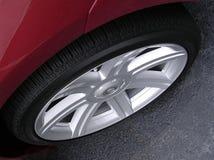 автомобиль резвится колесо Стоковые Изображения RF