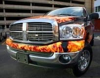 автомобиль светя Стоковая Фотография