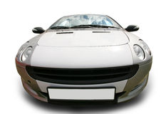 Автомобиль спортов на белой предпосылке Стоковое Изображение