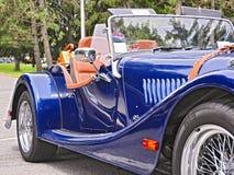Автомобиль с откидным верхом Моргана перемещения Saratoga стоковые фото