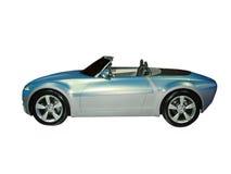 автомобиль с откидным верхом принципиальной схемы Стоковые Изображения RF
