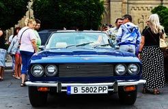Автомобиль с откидным верхом 1975 перехватчика ÐÐÐ Jensen Стоковые Фото