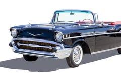 автомобиль с откидным верхом chevrolet бела воздуха 1957 стоковое изображение rf