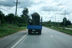 Автомобиль с слоном Стоковое Фото