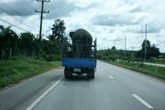 Автомобиль с слоном Стоковое Изображение