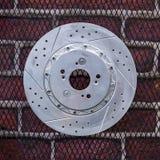 Автомобиль тарельчатых тормозов Стоковые Изображения RF