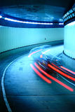 Автомобиль улицы участвуя в гонке Стоковые Изображения RF