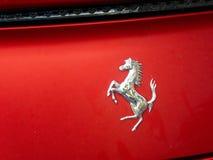Автомобиль Феррари стоковые изображения