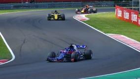 Автомобиль Формула-1 сток-видео