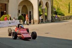 Автомобиль формулы семидесятых годов на Бергаме историческом Grand Prix 2017 Стоковые Изображения RF