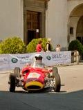 Автомобиль формулы шестидесятых годов на Бергаме историческом Grand Prix 2017 Стоковое Фото