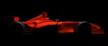 Автомобиль формулы 1 иллюстрация штока