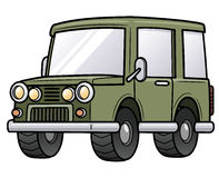 Автомобиль шаржа Стоковое фото RF