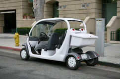 автомобиль электрический стоковое изображение