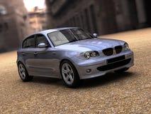 автомобиль 3d представляет Стоковая Фотография