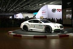 Автомобиль Bentley участвуя в гонке Стоковое Изображение RF