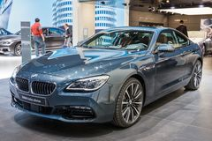 Автомобиль Coupe BMW 640d xDrive Стоковые Фото