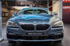 Автомобиль Coupe BMW 640d xDrive Стоковое фото RF