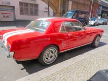 Автомобиль Ford Мustang стоковое изображение