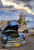 автомобиль havana старый Стоковые Фото