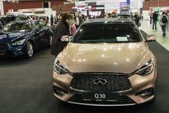 Автомобиль Infiniti q 30 стоковое изображение rf