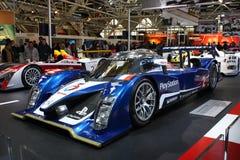 автомобиль Le Mans peugeot 24h 908hdi участвует в гонке Стоковые Фото