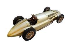 Автомобиль oldtimer спорта изолированный на белизне Стоковое Изображение