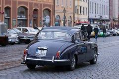 Автомобиль oldtimer ягуара 340 Стоковая Фотография RF