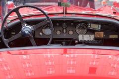 Автомобиль oldtimer ягуара Стоковые Фотографии RF