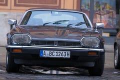 Автомобиль 1985 oldtimer ягуара XJS Стоковая Фотография