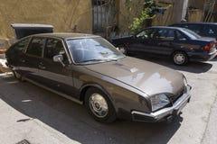 Автомобиль oldtimer Citroen DS Стоковое Изображение