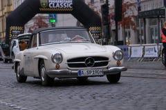 Автомобиль oldtimer SL Мерседес-Benz 190 Стоковая Фотография