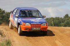 Автомобиль Opel Vauxhall Rallye Стоковая Фотография
