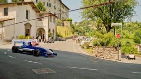 Автомобиль Renault формулы на Бергаме историческом Grand Prix 2017 Стоковые Изображения RF