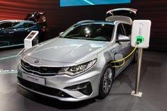 Kia Optima SW plug-in hybrid car