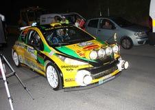 Автомобилей ралли Пежо 207 супер 2000 Стоковая Фотография