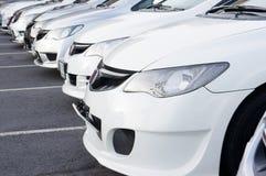 Автомобили города Стоковое Фото