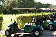 Автомобили гольфа Стоковое Изображение RF