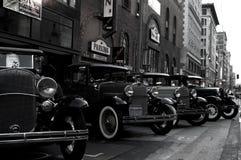 Автомобили запрета стоковое изображение