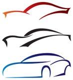 Иконы автомобиля Стоковая Фотография RF
