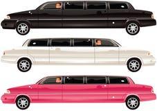 Автомобили лимузина Стоковое Фото