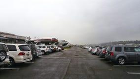 Автомобили и самолеты Стоковые Фотографии RF
