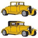 автомобили классицистические Стоковое Изображение RF