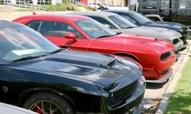 Автомобили мышцы доджа Стоковые Изображения RF
