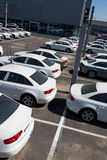 автомобили новые Стоковая Фотография RF