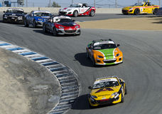 Автомобили спорт MX5 Mazda Стоковые Изображения